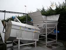 In operation: ROTAMAT® Wash Drum RoSF 9 in its  smallest size 0.5
